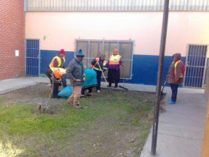 KTC NHW clean up at the KTC Community Hall