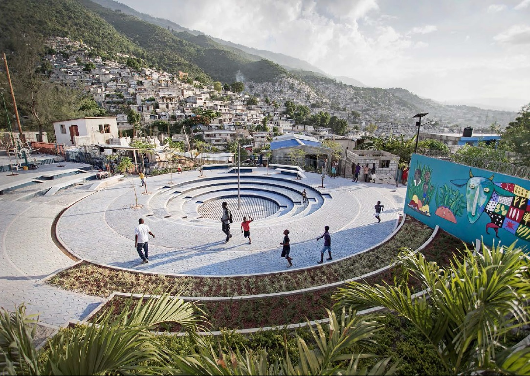 Work we love: Public spaces & resilience in Haiti