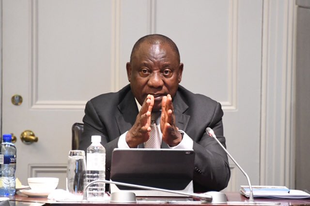 President Cyril Ramaphosa announces a national lockdown