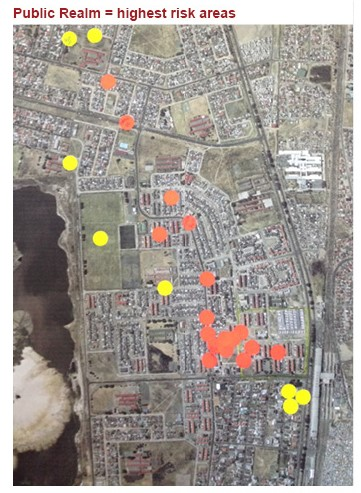 Mapping crime in Manenberg
