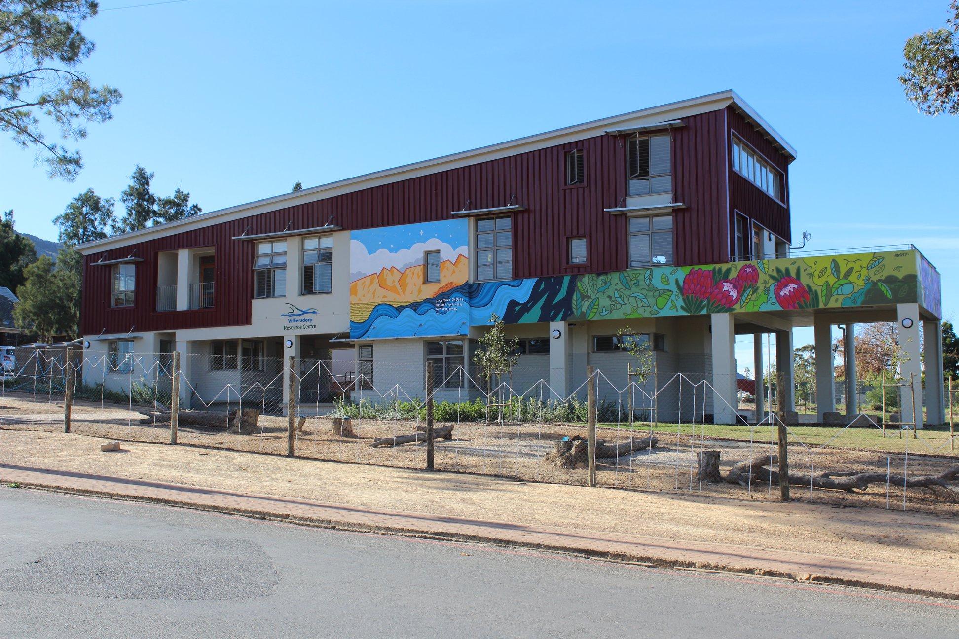 Villiersdorp Resource Centre wins prestigious CIFA award for architecture!