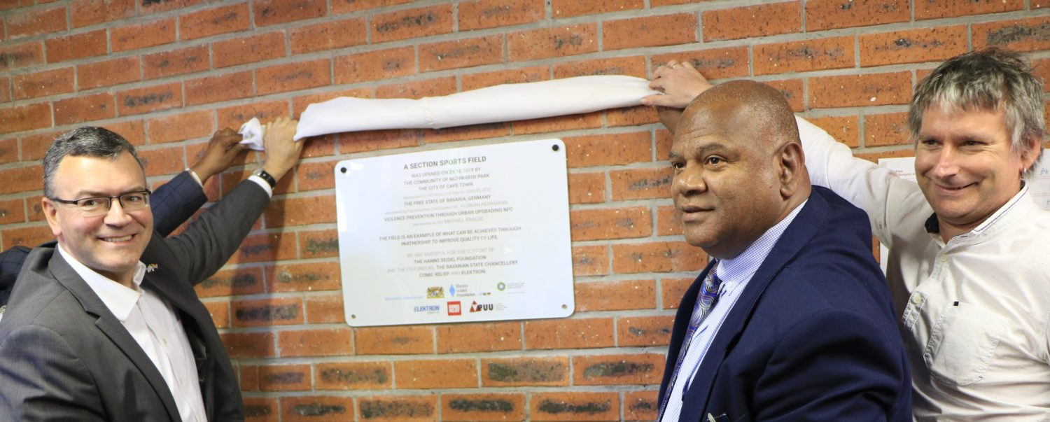Monwabisi Park A Section soccer field opens!