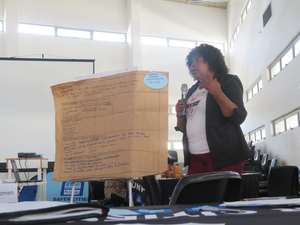 Ethekwini Safety Audit workshop 2